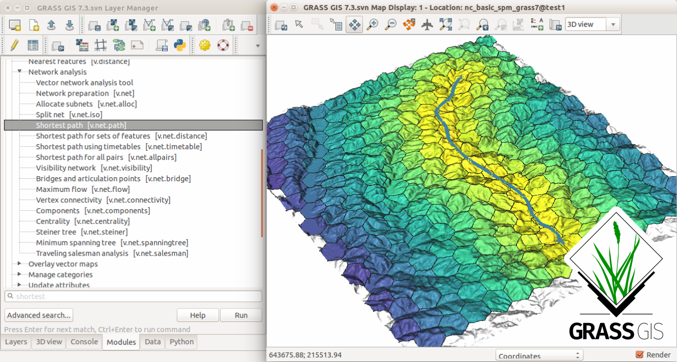 Introduction to GRASS GIS