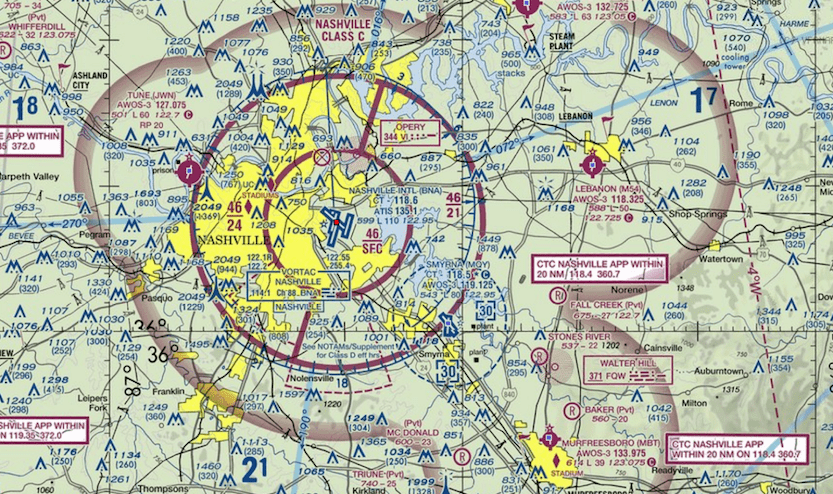 GISMEA UAVlidar Data Analytics - Class g airspace map